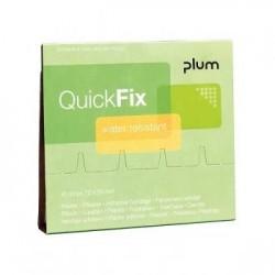 Vandeniui atsparūs pleistrai PLUM QuickFix 45vnt.
