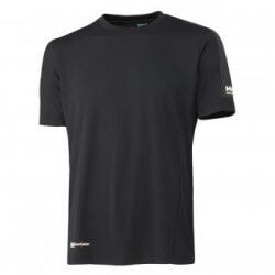 Marškinėliai Lifa-Cool Odense HELLY HANSEN, juodi