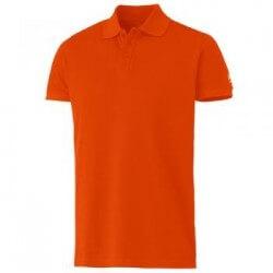 Polo marškinėliai HH Salford Pique oranžiniai
