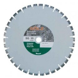 Deimantinis diskas granitui GOLZ SG 35 Ø350 mm
