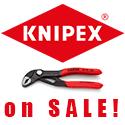 KNIPEX išpardavimas
