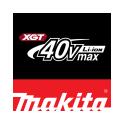 Makita 40V Max XGT gamintojo logotipas