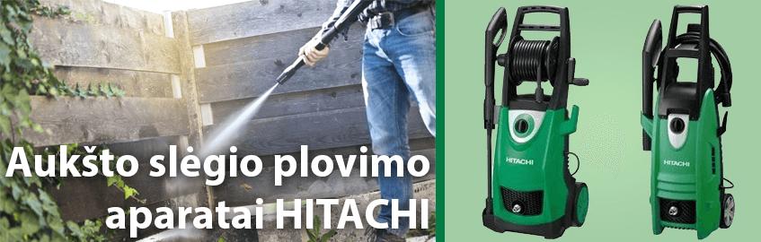 Aukšto slėgio plovimo aparatai HITACHI