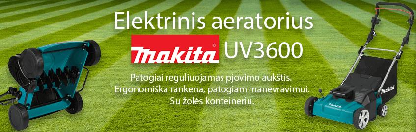 Elektrinis vejos aeratorius MAKITA UV3600