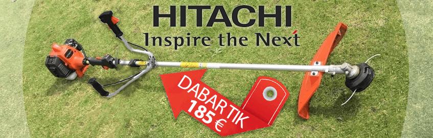 Benzininė žoliapjovė HITACHI CG22EAS(NB)