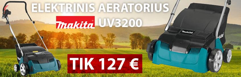 Elektrinis aeratorius MAKITA UV3200